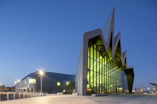 Riverside Museum by Zaha Hadid Architects in architecture  Category