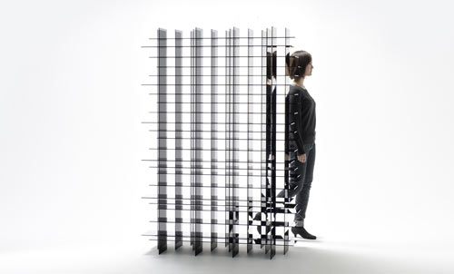 Scatter Shelf by Nendo in main home furnishings  Category