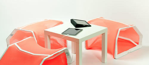 Segment Modular Communication Solution by Noam Fass in technology main home furnishings  Category