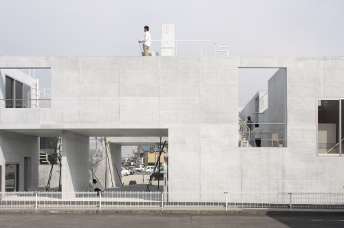 Static Quarry by Ikimono Architects in main architecture  Category