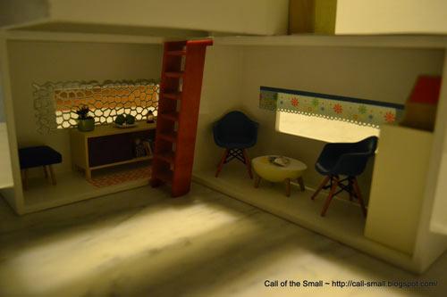 Tissue Box Doll House