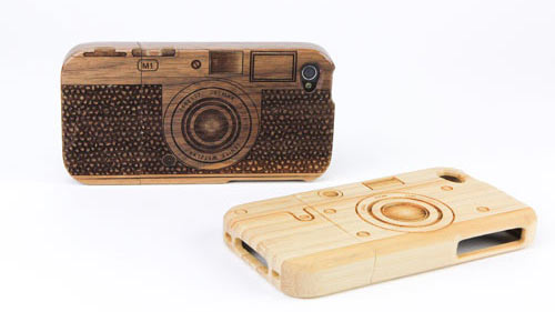 Wood Camera iPhone 4 Case in technology style fashion  Category