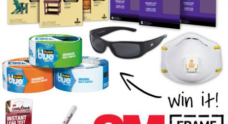 3M Frameworks Home Improvement Prize Pack Giveaway