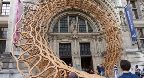 LDF 2011: Timber Wave at the V&A