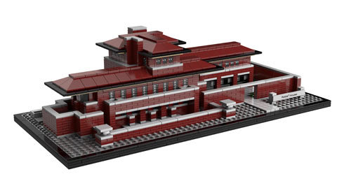 Frank Lloyd Wrights Robie House Gets Rebuilt in LEGOs