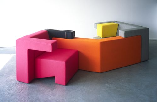 Modular Seating by Studio Lawrence