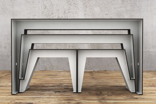 Compact Café Table by Sigurd Larsen in main home furnishings  Category