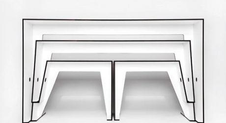 Compact Café Table by Sigurd Larsen