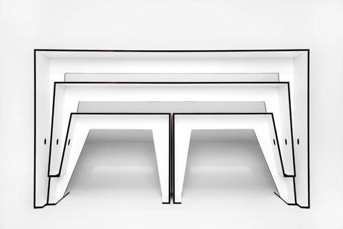 Compact Café Table by Sigurd Larsen