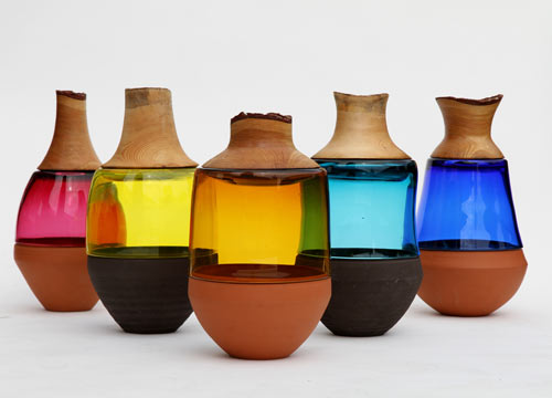 Stacking Vessels by Pia Wüstenberg
