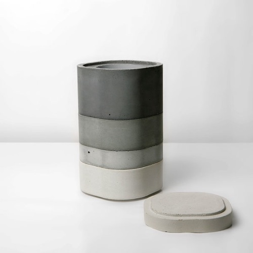 Concrete Vase by Xiral Segard in main home furnishings  Category