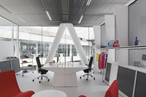 Adidas Office Interior in main architecture  Category
