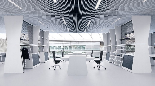 Skim Milk: Adidas Office Interior