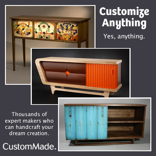 Get It Made with CustomMade Giveaway
