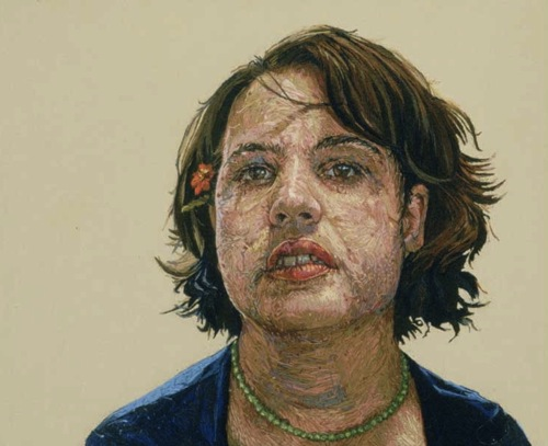 Embroidered Portraits by Cayce Zavaglia in main art  Category