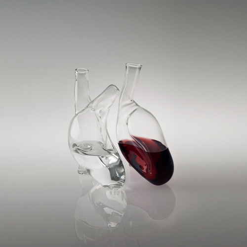 Human Heart Carafe in main home furnishings  Category
