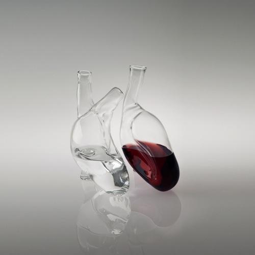Human Heart Carafe Design Milk