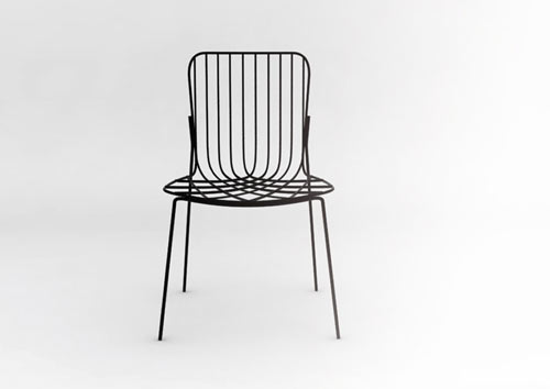 maille outdoor chair design milk
