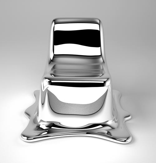 Melting Chair by Phillipp Aduatz