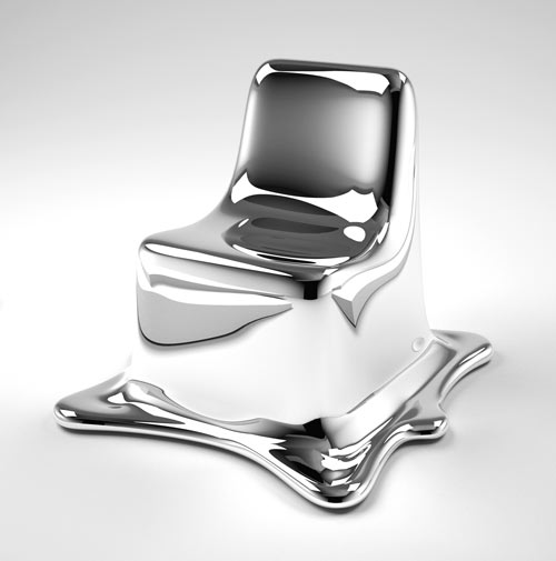 Melting Chair by Phillipp Aduatz in main home furnishings  Category