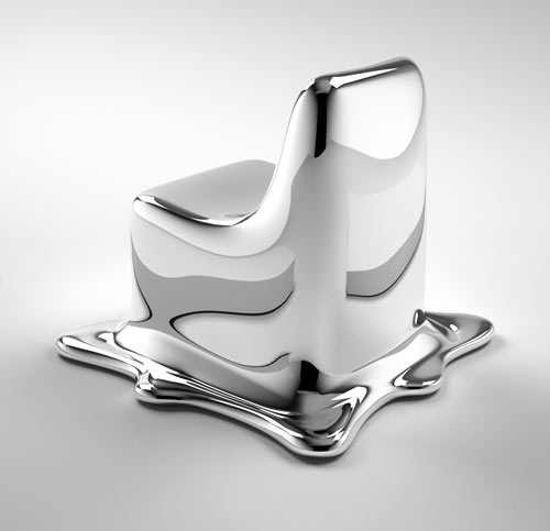 Melting Chair by Phillipp Aduatz in home furnishings  Category