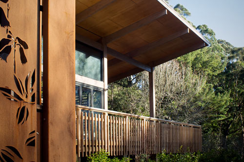 Olinda Tea House by Smith + Tracey Architects