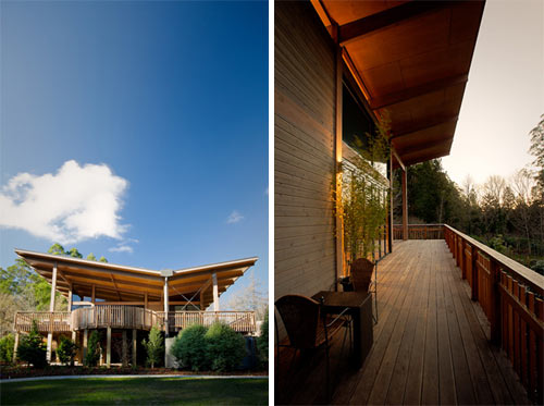 Olinda Tea House by Smith + Tracey Architects in architecture  Category