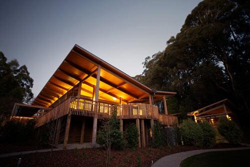 Olinda Tea House by Smith + Tracey Architects