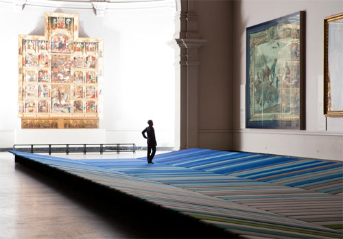 LDF 2011: Textile Field by Ronan and Erwan Bouroullec in main home furnishings art  Category