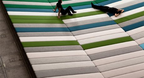 LDF 2011: Textile Field by Ronan and Erwan Bouroullec
