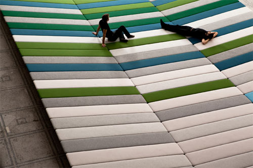 Textile Field by Ronan and Erwan Bouroullec