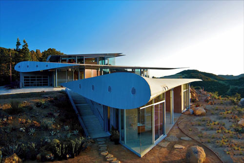 The 747 Wing House ...