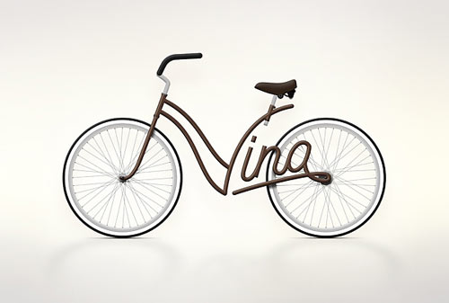 Write a Bike by Juri Zaech in technology style fashion  Category