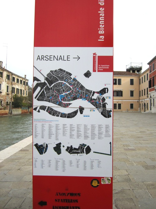 Visiting the Venice Biennale in news events art  Category