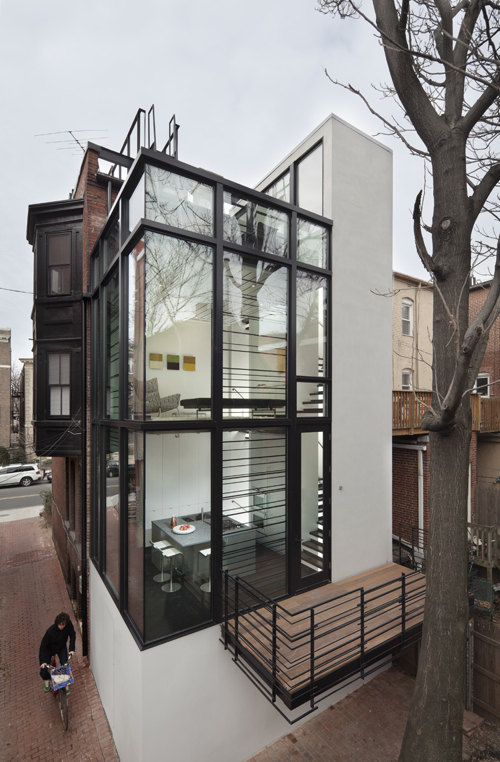 Barcode House by David Jameson