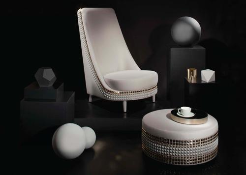 Salon Armchair by Lee Broom