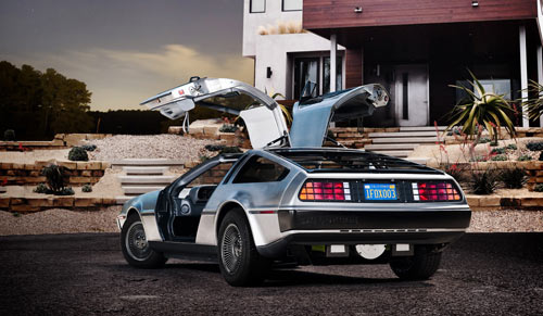Electric DeLorean Launching in 2013