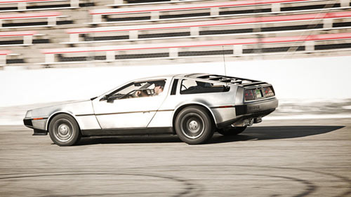 Electric DeLorean Launching in 2013 in technology main  Category