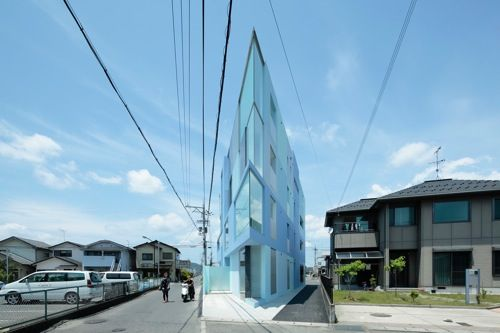 On the Corner House by Eastern Design Office in main architecture  Category