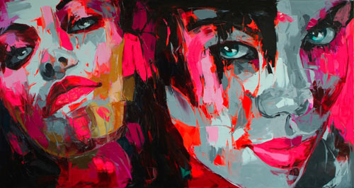 Françoise Nielly in art  Category