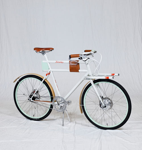 Modern Utility Bike in technology style fashion main  Category
