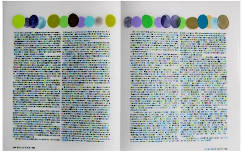 Color Codification Dot Drawings by Lauren DiCioccio in main art  Category