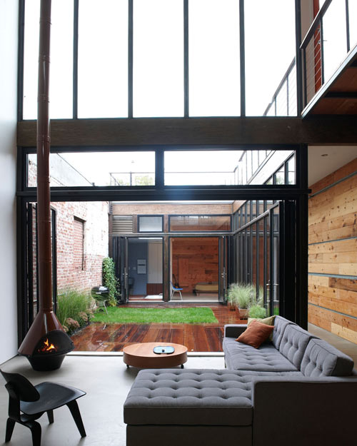 Atrium House by MESH Architectures in main architecture  Category