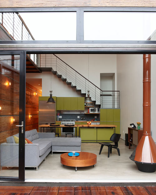 The Design Of The House Offers The Owner Lots Of Privacy Without The House  Feeling Closed In.