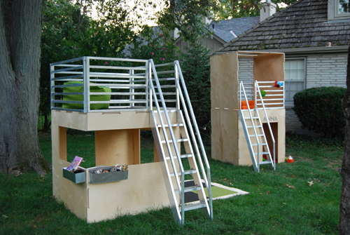 Modern Playhouses by Play Modern