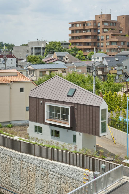 River Side House in Horinouchi by Mizuishi Architect Atelier in architecture  Category