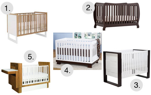Find a Modern Crib with Cymax in sponsor home furnishings  Category