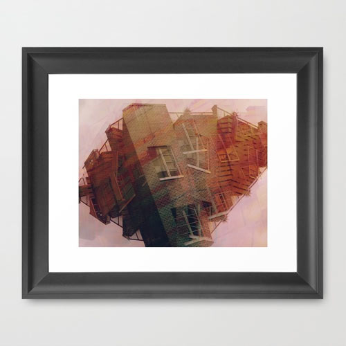 crushed-print-framed