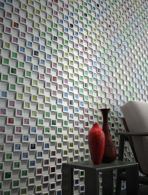 Dent Cube in main interior design  Category