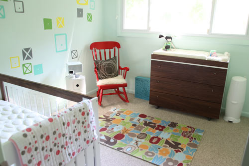 The Finished Nursery (and Welcome Little Milk!) in news events interior design  Category